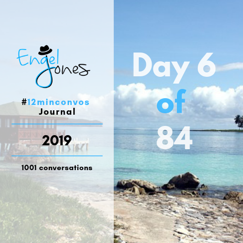 #12minconvos podcast with Engel Jones Day 6