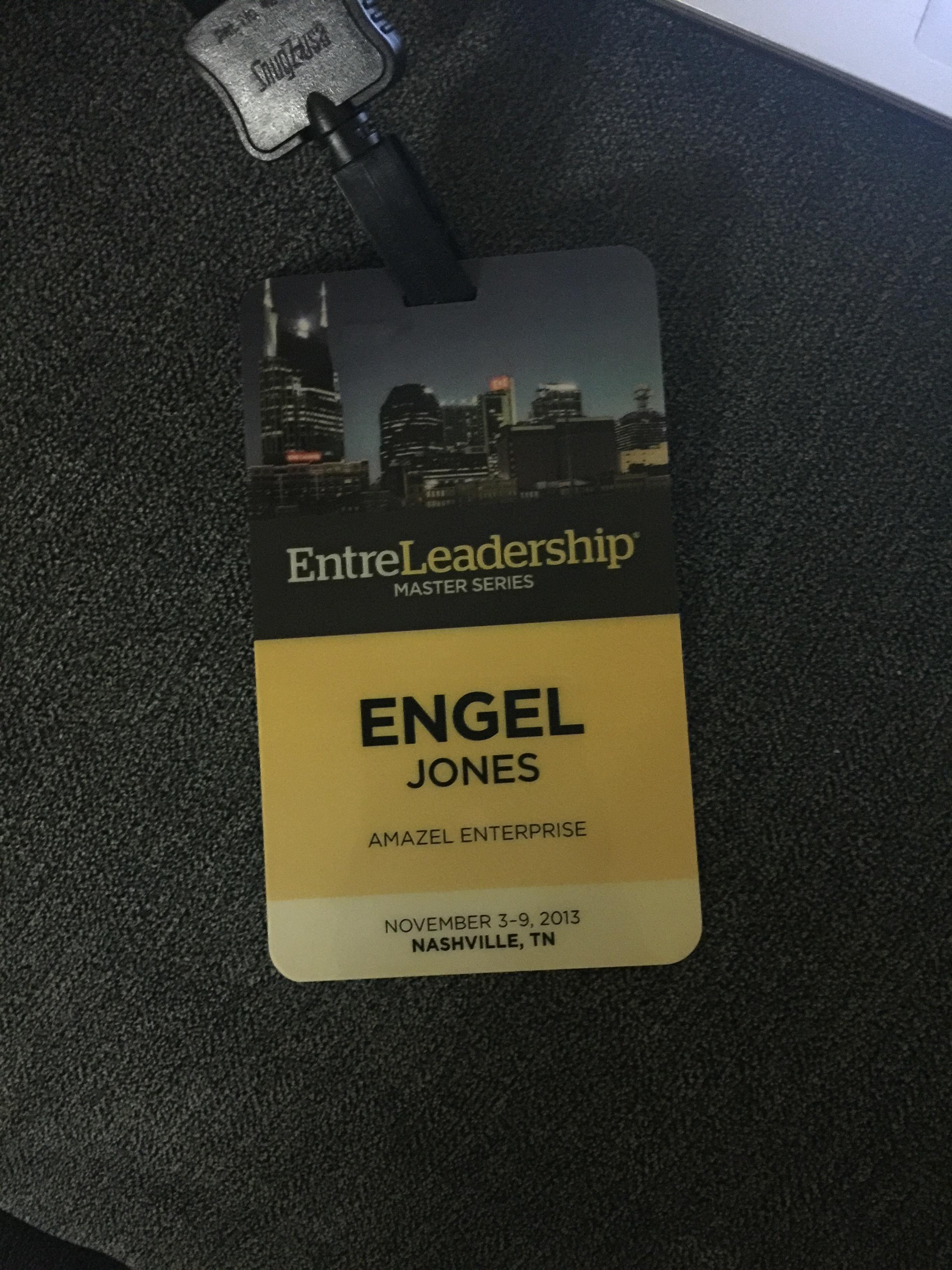 Entreleadership Master Series 2013