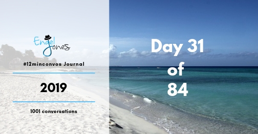 #12minconvos podcast with Engel Jones Day 31 of 84-2