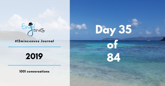 #12minconvos podcast with Engel Jones Day 35 of 84